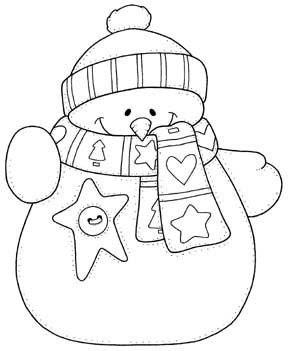 Le Bonhomme De Neige à Noël