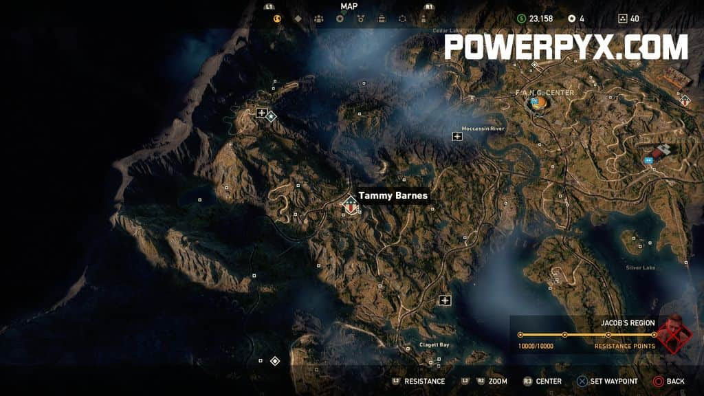 Far Cry 5 Wolf Beacon Map Maping Resources