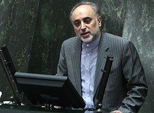 O ministro iraniano das Relações Exteriores, Ali Akbar Salehi