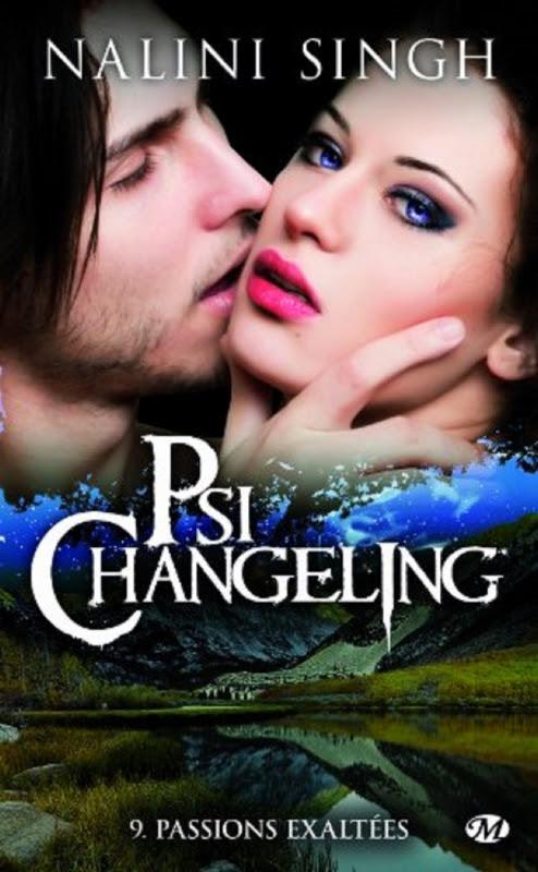 Couverture Psi-changeling, tome 09 : Passions exaltées
