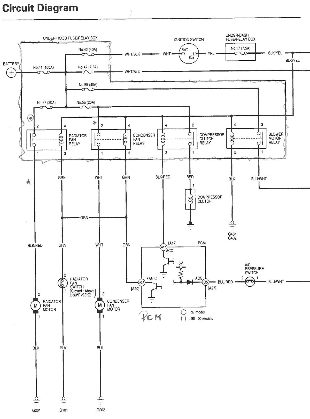 Stereo Wiring Diagram Honda Accord 97