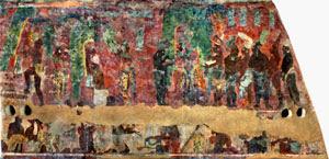 Pintura Mural Maya Leticia Staines