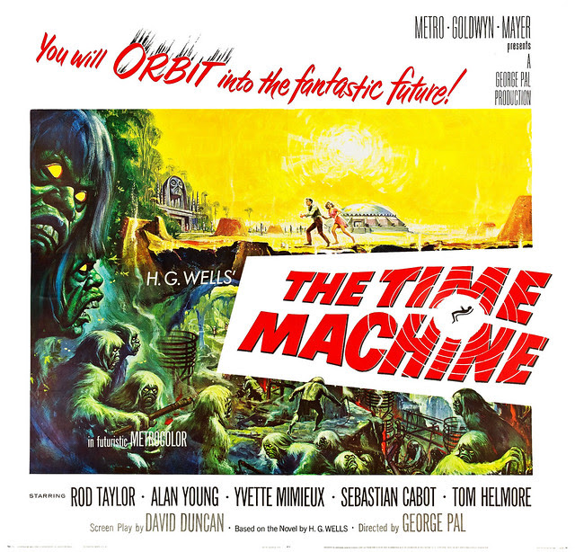 Reynold Brown - Time Machine, The (MGM, 1960). Half Sheet 2