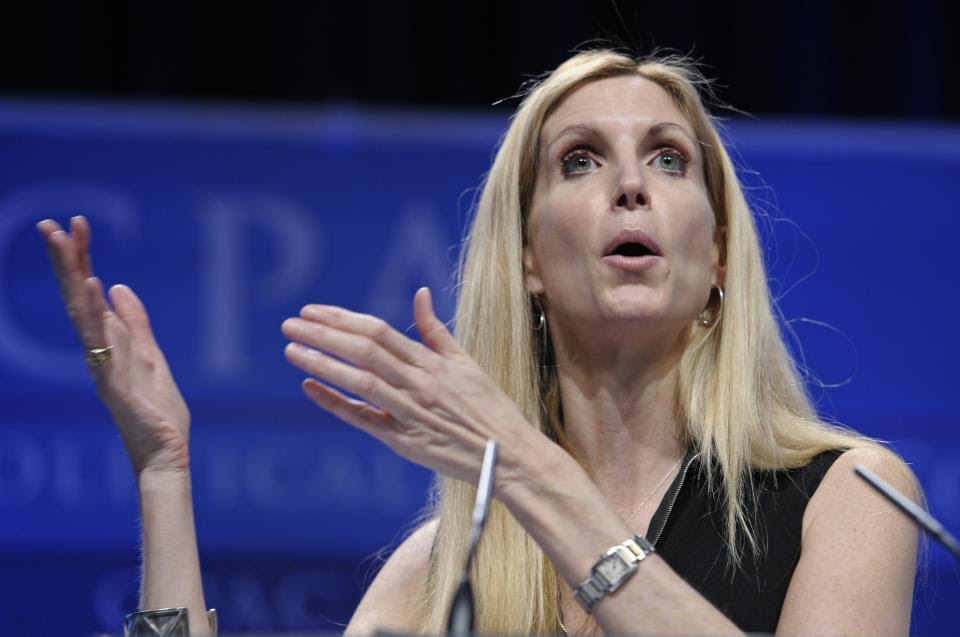 Ann Coulter speaks at the Conservative Political Action Conference (CPAC) in Washington, Saturday, Feb. 12, 2011. The annual gathering of more than...