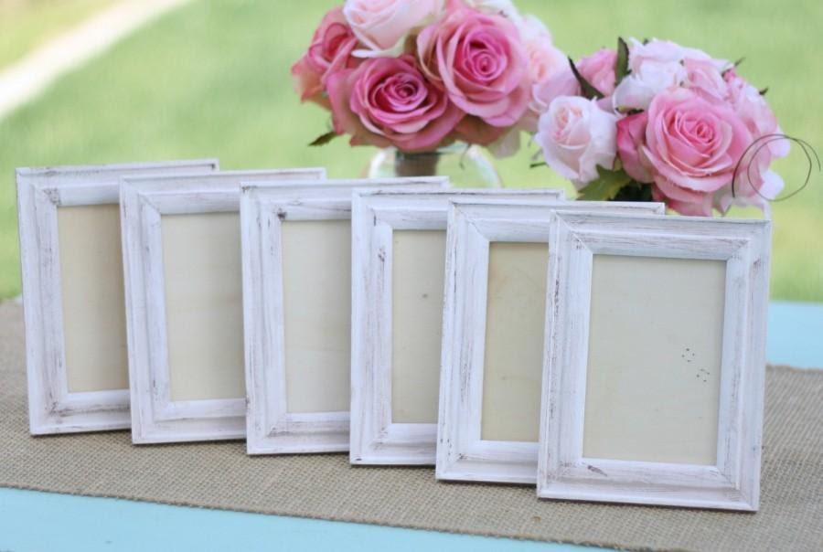 Shabby Chic Wedding Frames Distressed Item Number 140290 2406953