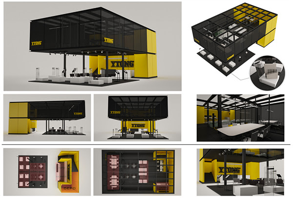 Ytong Stand Design Competition 2012 on Behance