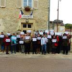 Quincy-le-Vicomte | Manifestation anti éoliennes à Quincy-le-Vicomte