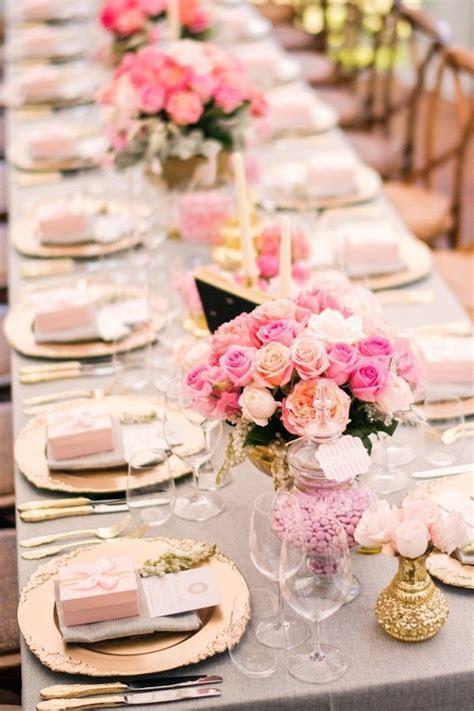 25  best ideas about Pink Wedding Centerpieces on