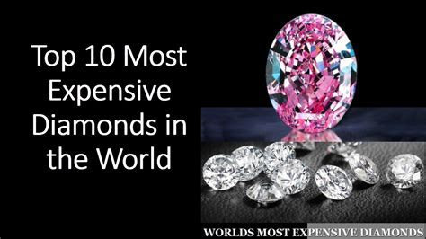 Top 10 Most Expensive Diamond?s in the World ? Jewelry World