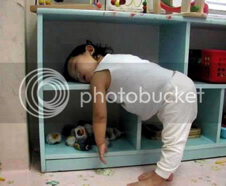 gayatidur2 10 Gaya tidur yang lucu