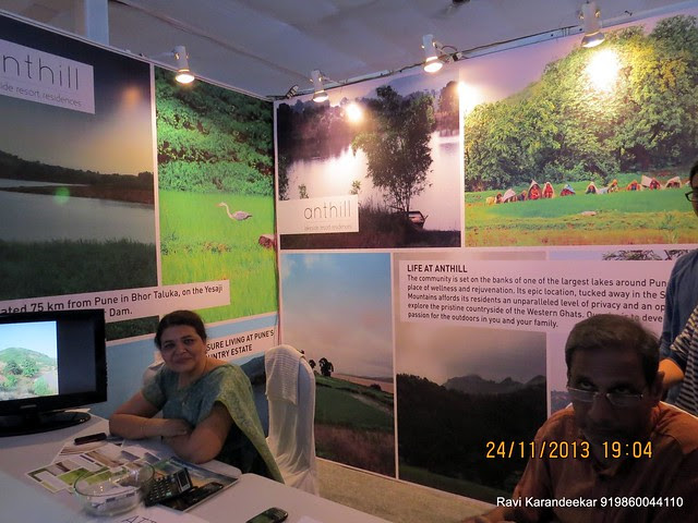 www.anthill.co.in -  Ant Hill Plots at Bhatghar Dam - Yesaji Kank Lake - Pune Property Exhibition, Times Property Expo 'Investment Festival 2013', 23rd & 24th November 2013