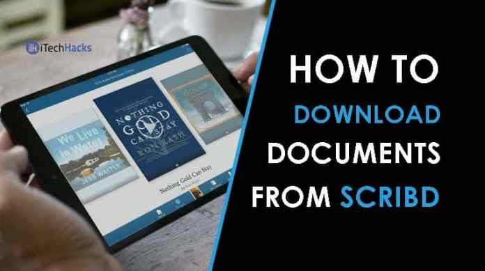 iTech Hacks | How to Download Paid Documents from Scribd in