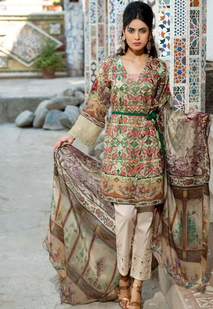warda eid dresses 2018 exclusive melange collection