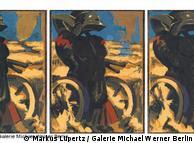 'Schwarz-Rot-Gold I-II-III', de Markus Lüpertz