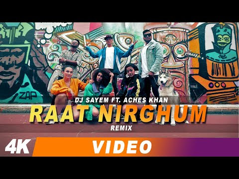 DJ Sayem ft. Aches Khan - Raat Nirghum Remix | Bangla new song 2019 🇧🇩 | Habib Wahid Cover