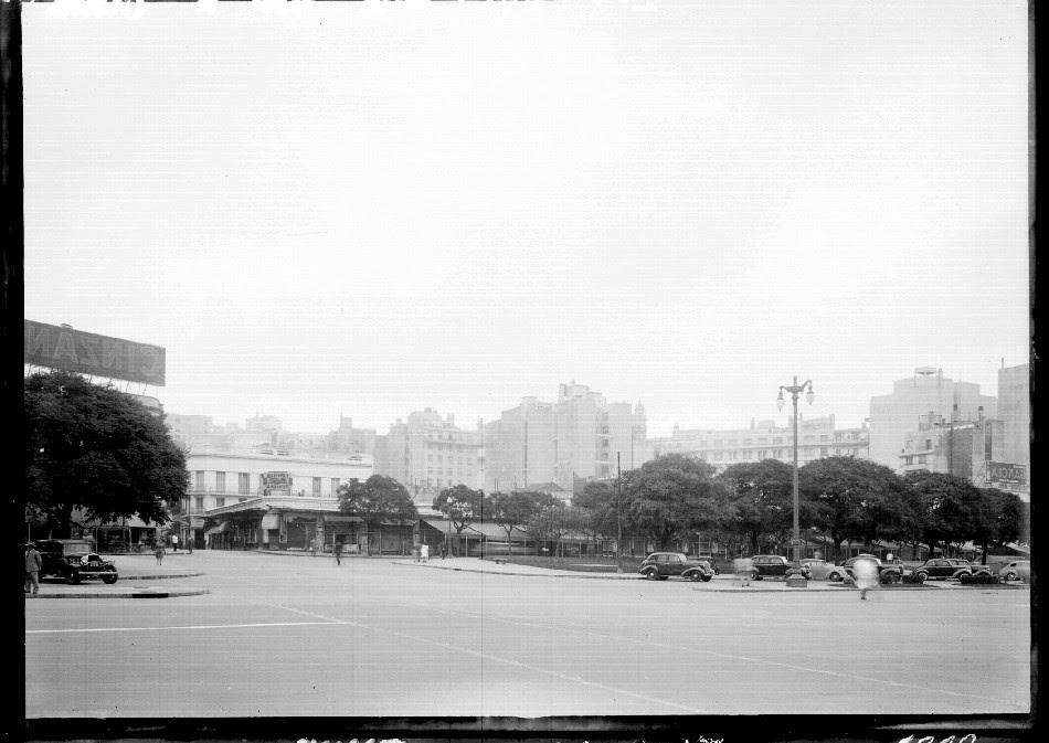 Av. 9 de Julio. Lugar del Mercado del Plata
