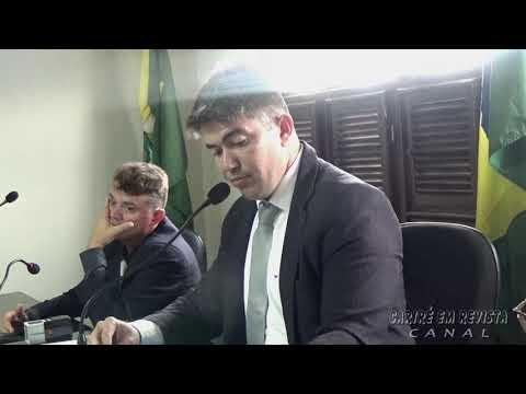 Câmara Municipal de Cariré aprova títulos de cidadania, reforma de ponte em Jucá, novo valor do salário mínimo e a instalação de equipamentos eliminadores de ar na tubulação da Cagece