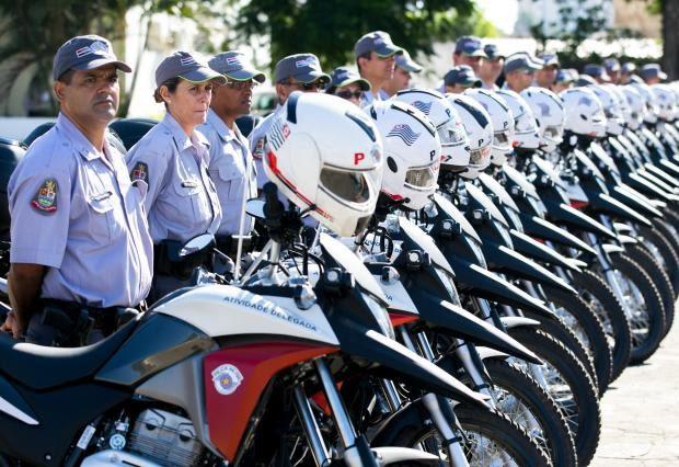 Polícia recebeu veículos para auxiliar o patrulhamento na atividade delegada. (Foto: Divulgação/Governo do Estado de SP)