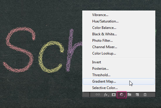 Chalk Text Effect step 6