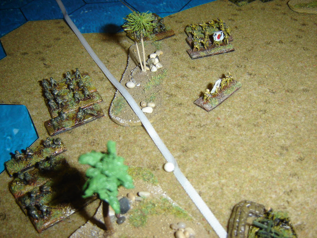 Marines take ground and push towards emplaced artillery