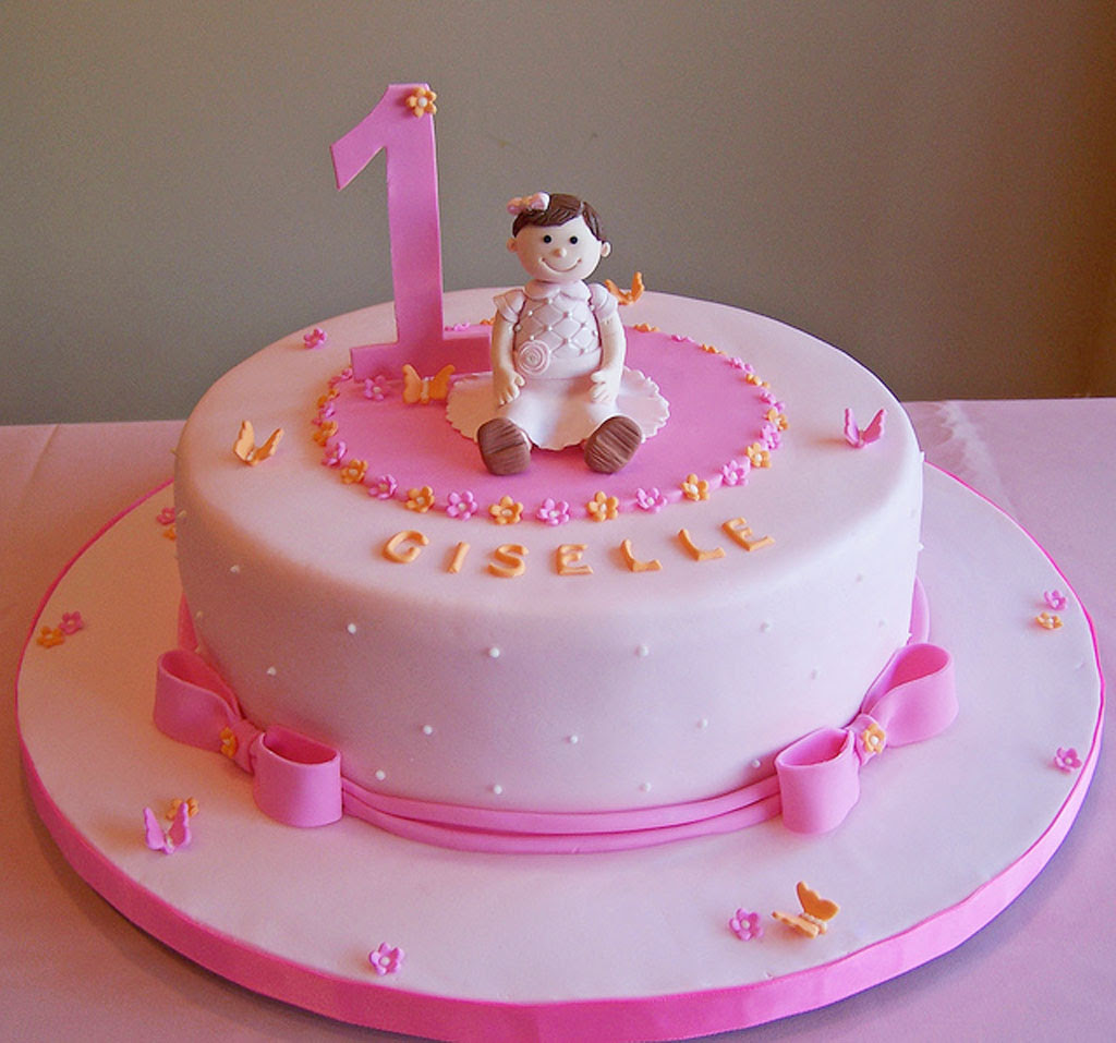 1st Birthday Cake For Girl Ideas By Prayface