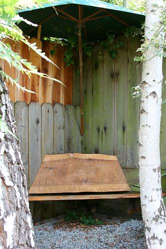 nice corner bench