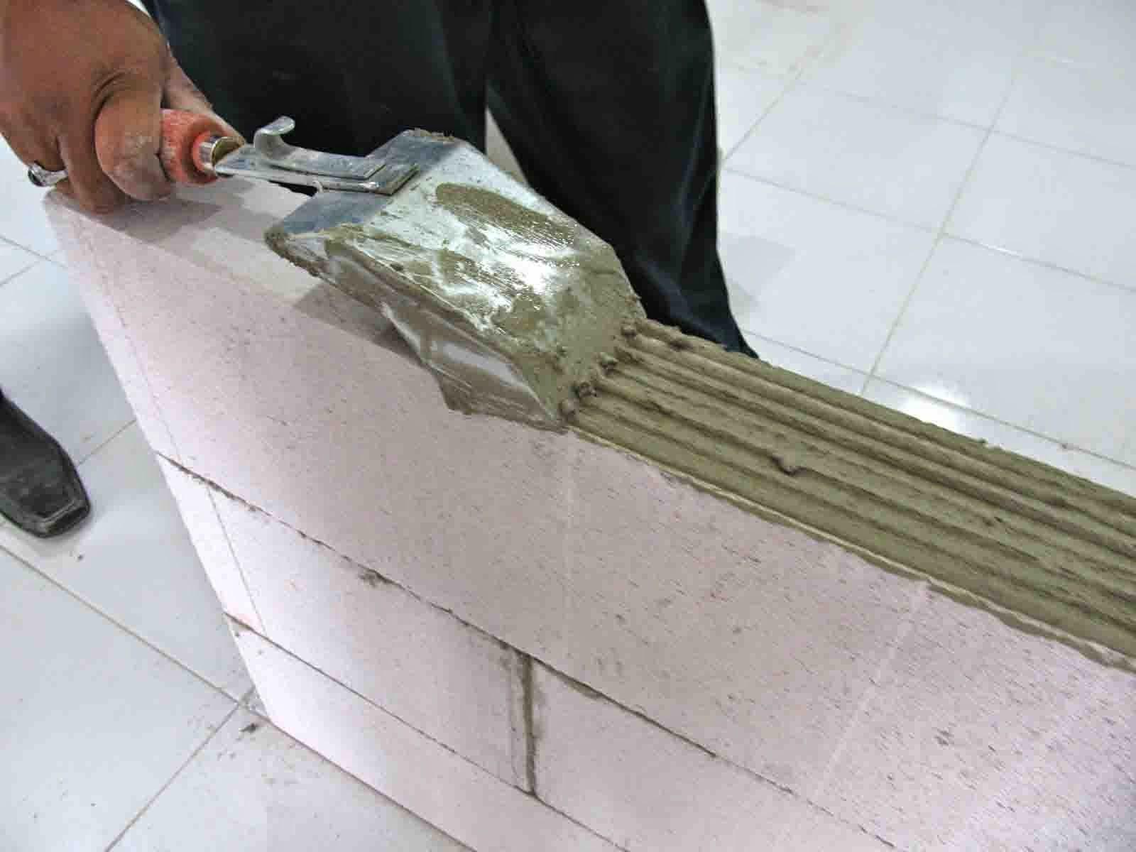 Menghitung Jumlah Kebutuhan Semen Mortar Perekat Bata