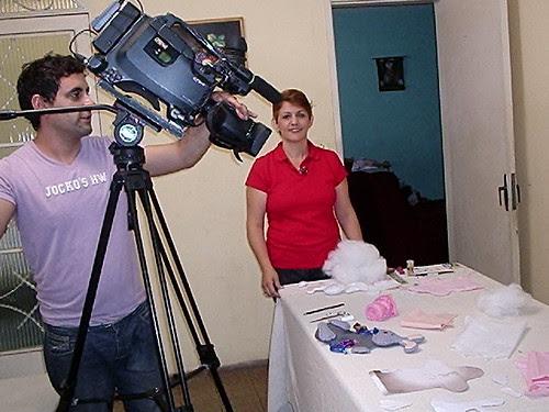 4 GRAVAÇAO  PARA TV CANÇAO NOVA by Vera Arte em Giz de Cera