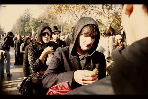 Protesta estudiantil, 16 de Junio. by Manuel Venegas