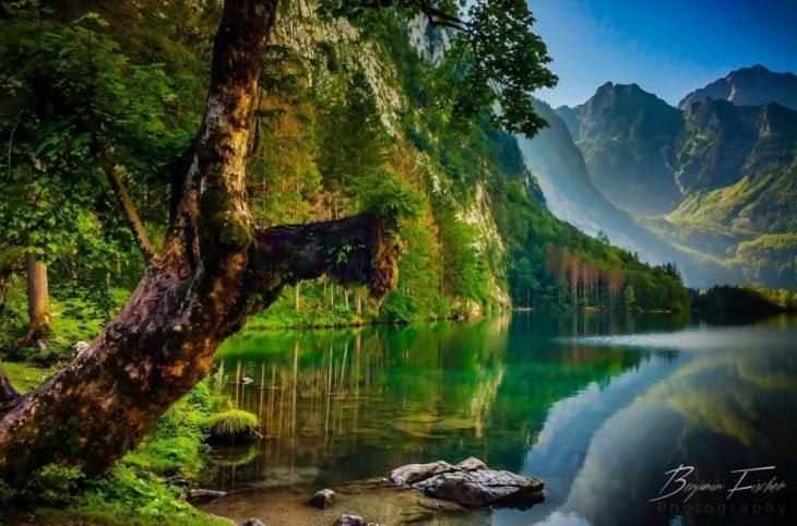 Königssee lago  alemania