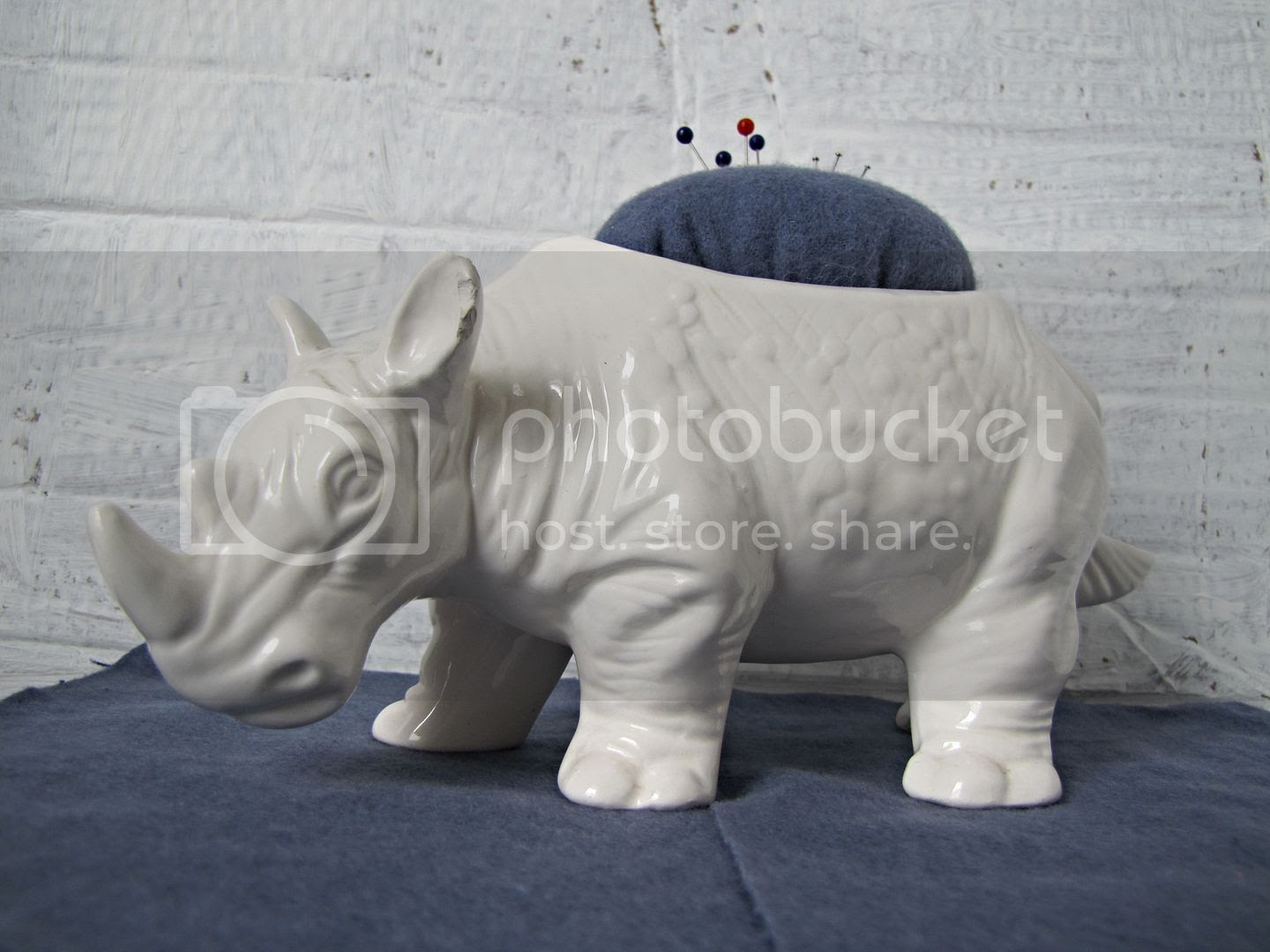 rhino pincushion from floral container - Indietutes.blogspot.com photo b0e5193a-dd25-4f7f-a05d-2e0b941ef9b5.jpg