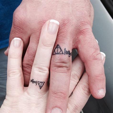 wedding finger tattoos designs ideas  meaning