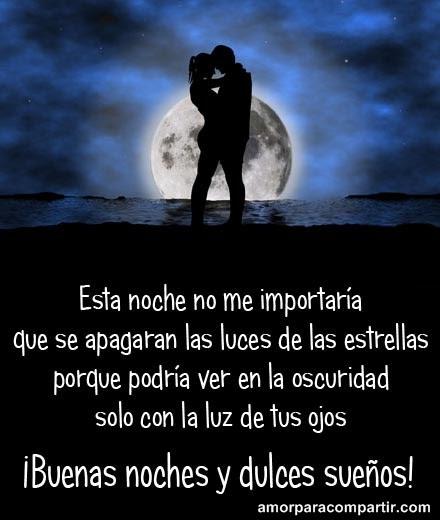 Imagenesdeamor Frases De Buenas Noches Amor