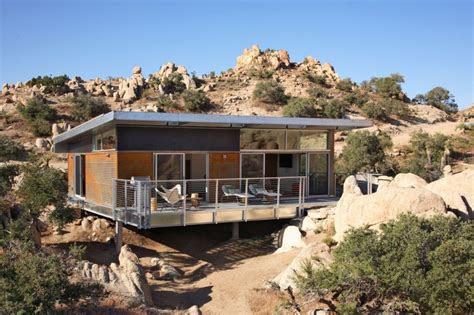 prefab house  desert california modern prefab modular