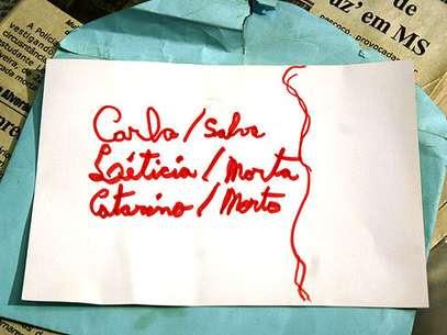Na época dos crimes, o adolescente fez uma lista com os nomes de suas vítimas Foto: Edemir Rodrigues / Divulgação