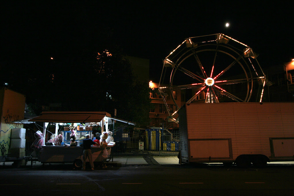 Hey there's a carnival out behind Automotive High School