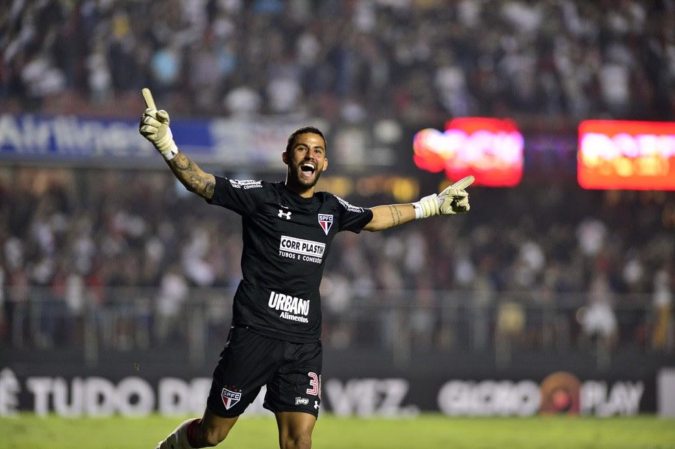 São Paulo x Palmeiras Renan Ribeiro (Foto: Marcos Ribolli)
