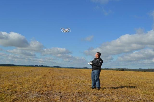 Drones surgem como alternativa para monitorar lavouras Luis Afonso Costa/Especial