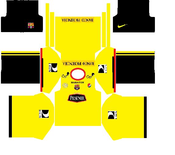 Barcelona Kit Dream League Soccer 2016 — BCMA