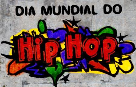 Resultado de imagem para Dia Mundial do Hip Hop terá comemoração com os movimentos de rap e grafite