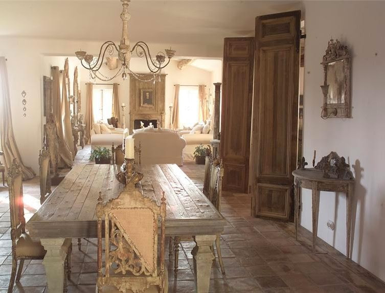 Chic dining a must on Pinterest | Swedish Decor, Primitive ...