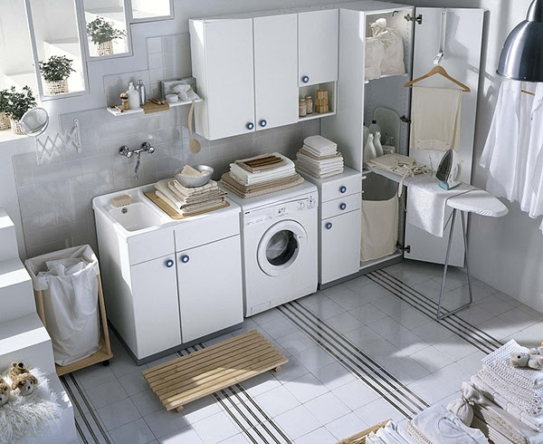 Laundry Room Storage, Organization and Inspiration