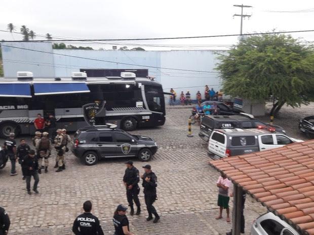 Operação foi iniciada na manhã desta quinta-feira (14) em João Câmara (Foto: Divulgação/Polícia Civil)
