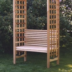 All Things Cedar. Cedar Potting Bench Home Products on Houzz
