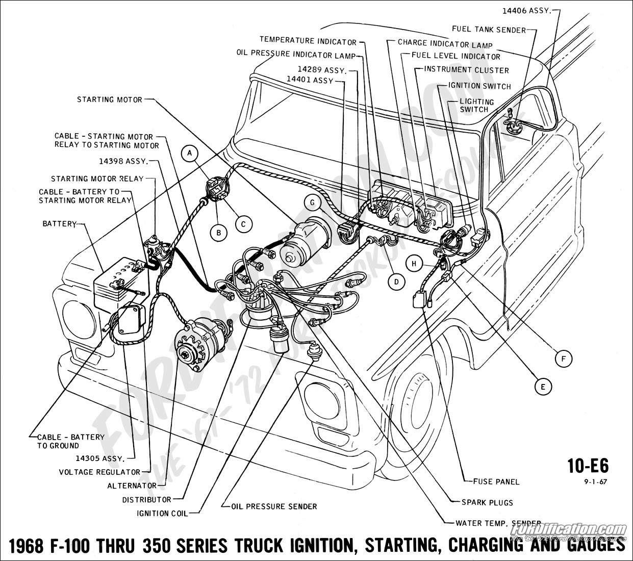 Corvette Spark Plug Wire Diagram