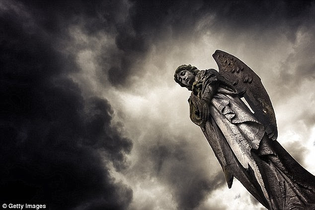 Watching over you: One in ten Britons claim to have seen or heard an angel ¿ double those who said the same six years ago, it was revealed today