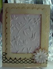 Paper casting window