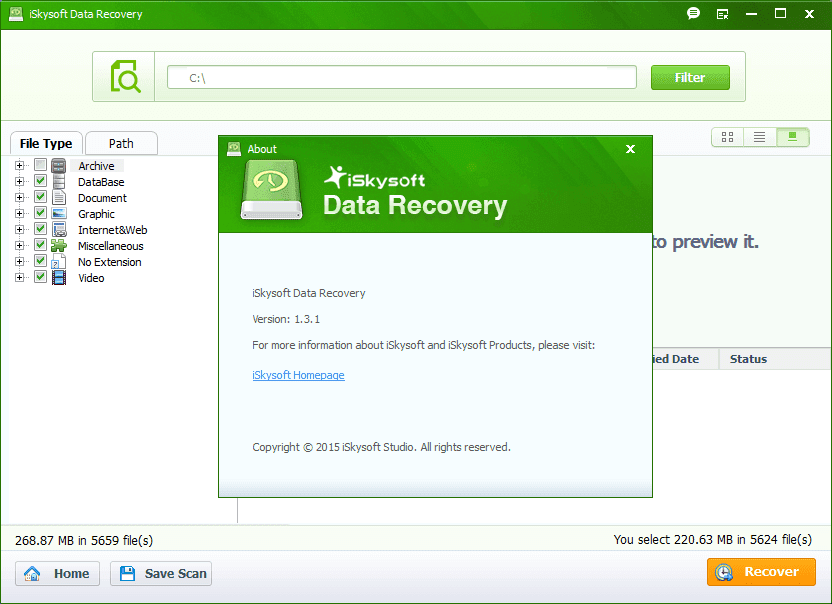 iSkySoft Data Recovery Crack Mac with Serial Key Download