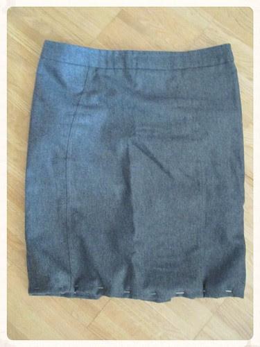 Skirt upcycling