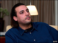 Mo'tassim Gaddafi, son of martyred revolutionary Libyan leader Muammar Gaddafi, was executed by the CIA-NATO trained counterrevolutionary rebels. The rebels have been installed by the imperialist countries. by Pan-African News Wire File Photos